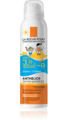 ANTHELIOS DERMO-KIDS LSF 50+ SPRAY packshot from Anthelios, by La Roche-Posay