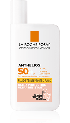 ANTHELIOS TRANSPARENTES FLUID GETÖNT LSF50+ packshot from Anthelios, by La Roche-Posay