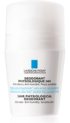 DEODORANT ROLL-ON packshot from Physiologische Reinigung, by La Roche-Posay