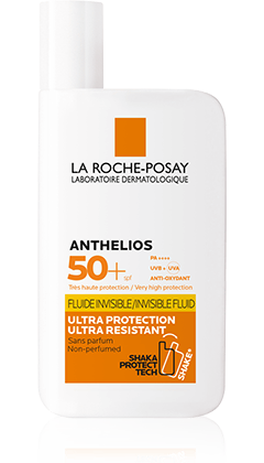 ANTHELIOS FLUIDE INVISIBLE SPF50+   packshot from Anthelios, by La Roche-Posay