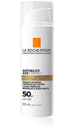 AntheliosAge Correct SPF50 packshot from Anthelios, by La Roche-Posay