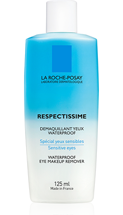 Respectissime: demaquillant yeux waterproof packshot from Toleriane maquillage, by La Roche-Posay