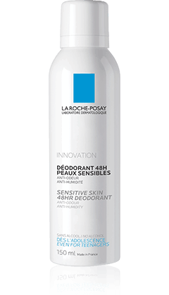 DEODORANT PHYSIOLOGIQUE 48H SPRAY packshot from Déodorants, by La Roche-Posay